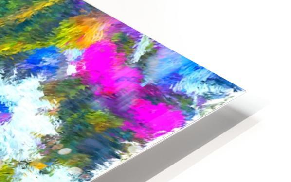 Joyful Daisy Field HD Sublimation Metal print
