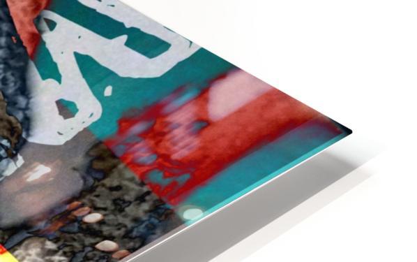 ACRONYMES POUR LA PAIX HD Sublimation Metal print