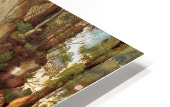 Marter der zehntausend Christen HD Sublimation Metal print