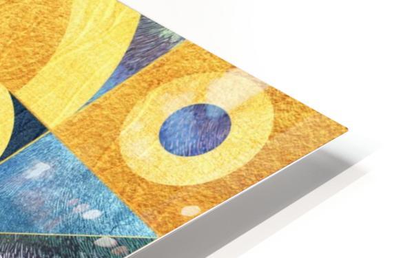 Geometric XXXXXVII HD Sublimation Metal print
