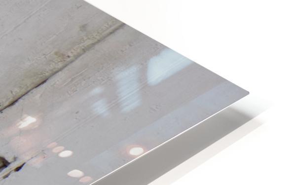 Weathered Door HD Sublimation Metal print