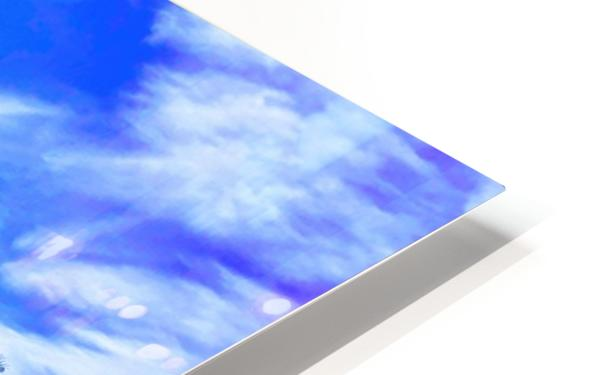 Nevada Sky  HD Sublimation Metal print