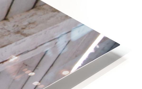 Wooden Beams HD Sublimation Metal print