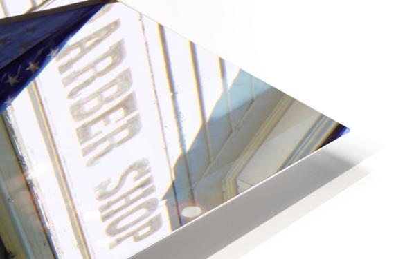 Patriotic Barber Shop HD Sublimation Metal print