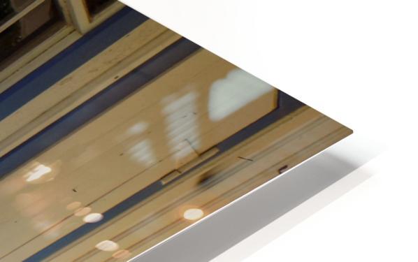 Wagon Wheel on Porch HD Sublimation Metal print