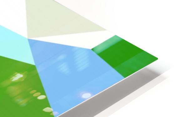 abstract geometric triangular art HD Sublimation Metal print