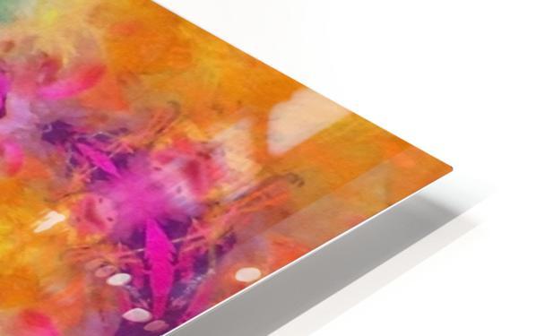 Colorful Fractal HD Sublimation Metal print