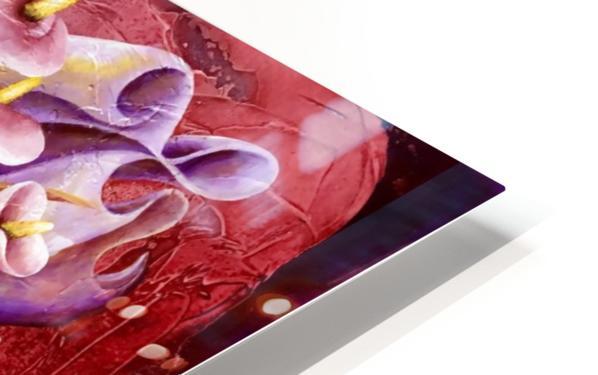 Loving my Rose HD Sublimation Metal print