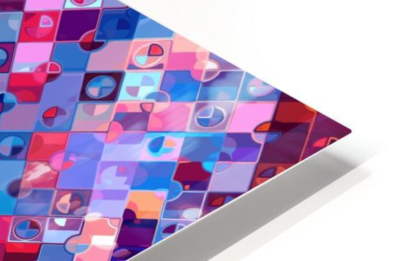 Geometric XXXXXVIII HD Sublimation Metal print