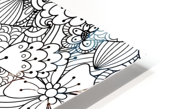 Fantasy Flowers HD Sublimation Metal print