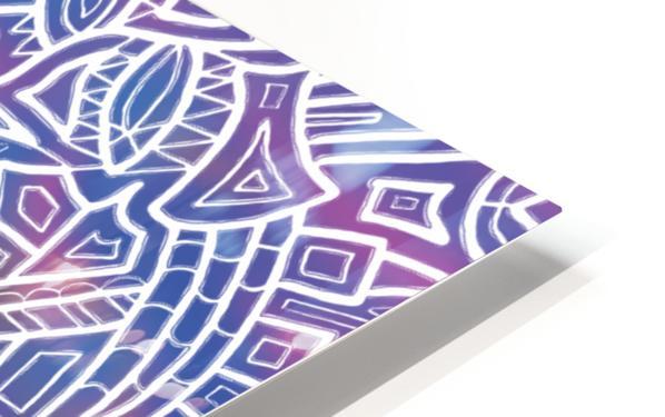 Iridescent Reverie HD Sublimation Metal print