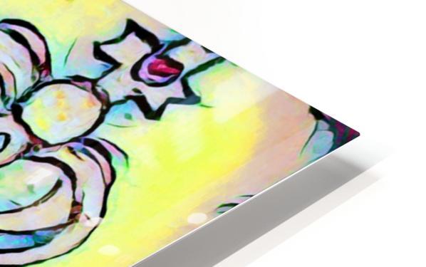 saint abstract HD Sublimation Metal print