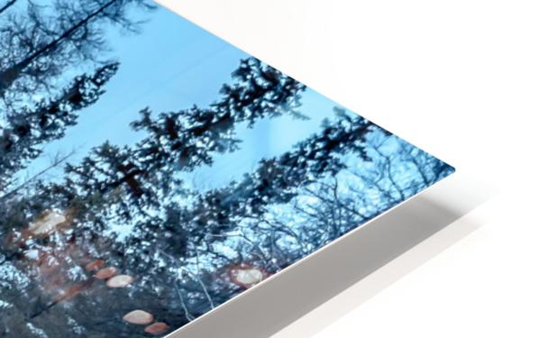 River and snow HD Sublimation Metal print