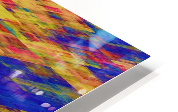 Abstract Composition 232 HD Sublimation Metal print
