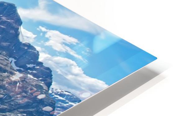 Two Medicine at Glacier National Park HD Sublimation Metal print