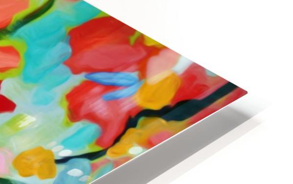 Floral 2 HD Sublimation Metal print