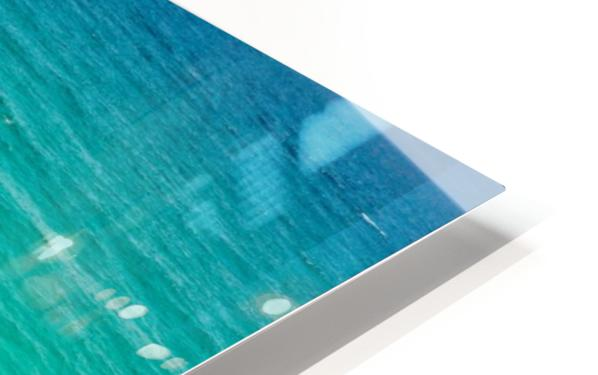 Clear Surf  HD Sublimation Metal print