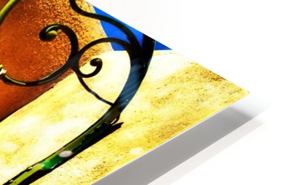 Lantern Shadow HD Sublimation Metal print