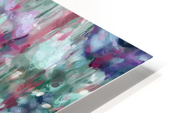 Multicolor Abstract Floral  HD Sublimation Metal print