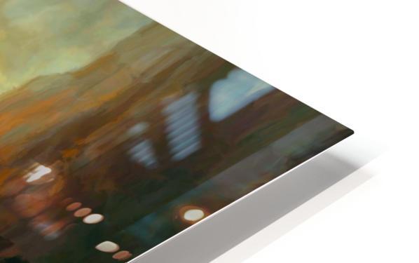 Fierce Landscape HD Sublimation Metal print