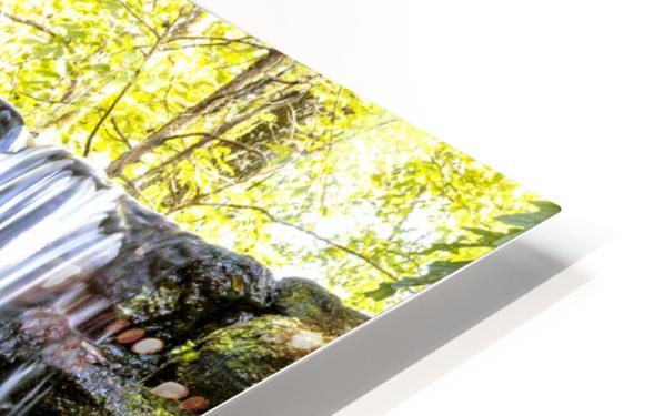 Rainbow Springs Falls HD Sublimation Metal print