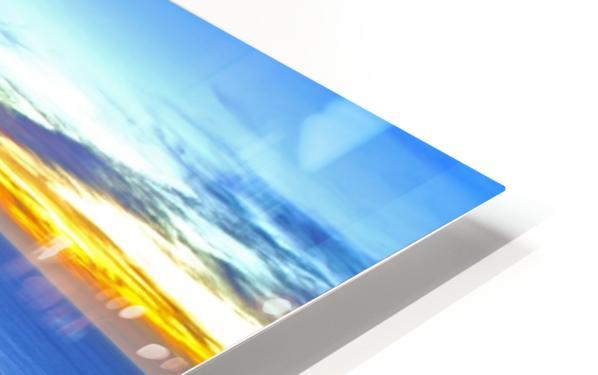 Bixby Blues HD Sublimation Metal print