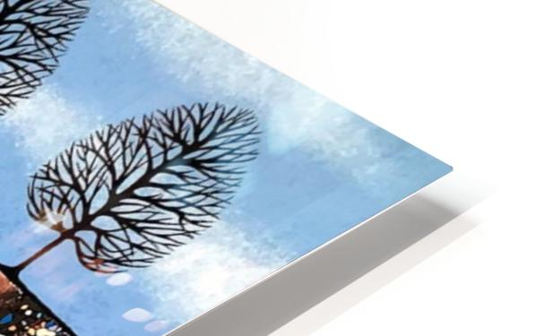 Trees Of Winter HD Sublimation Metal print