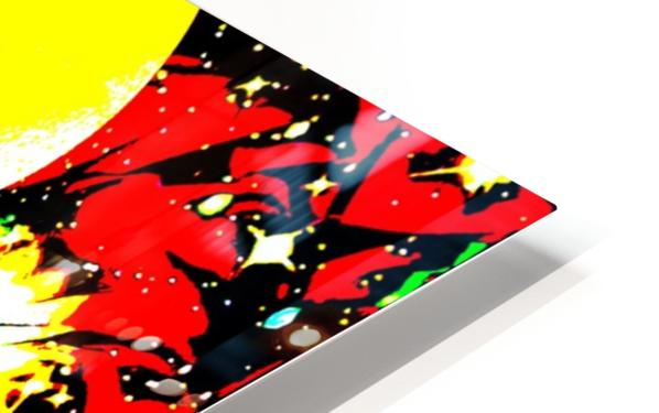 Clash of Worlds HD Sublimation Metal print