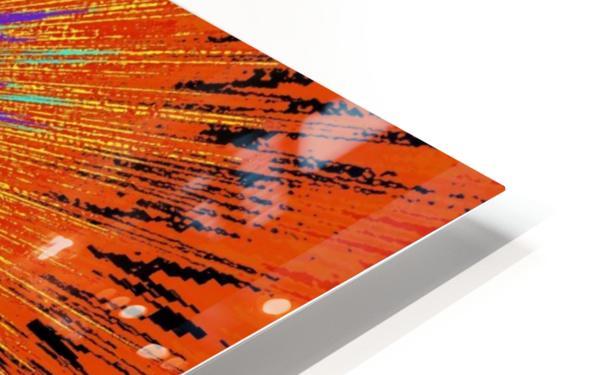 Abstract Sun 33 HD Sublimation Metal print