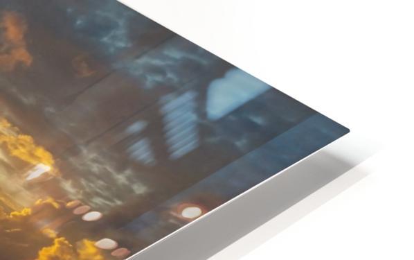 Eleuthera Sunrise splashdown HD Sublimation Metal print