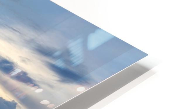 Eleuthera Sun ray HD Sublimation Metal print