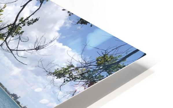 A Street Side in Puerto Rico Series: 3 HD Sublimation Metal print