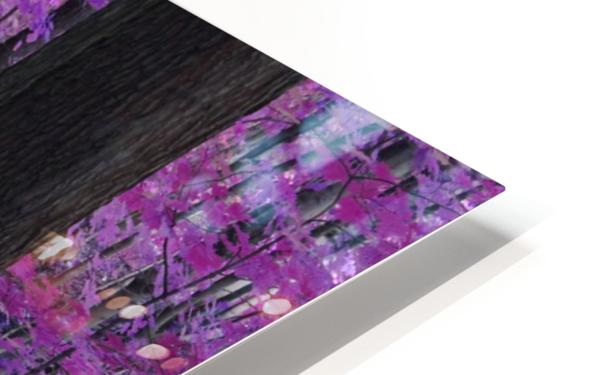 Purple Forest HD Sublimation Metal print