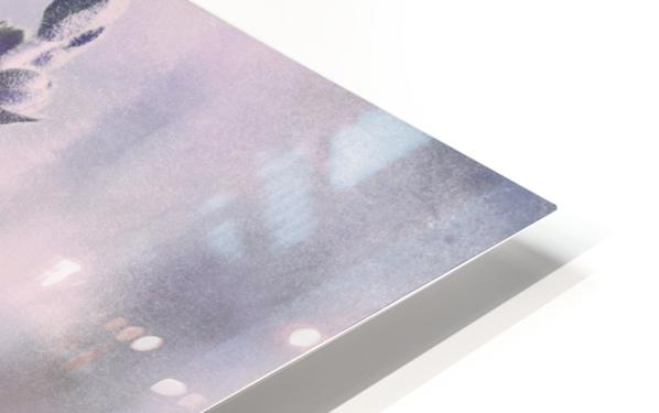 Soft Vintage Lupine HD Sublimation Metal print