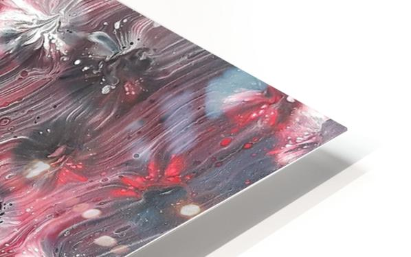 Red forest HD Sublimation Metal print