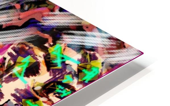 Icing on the Kaleidoscopic HD Sublimation Metal print