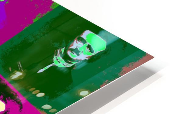 Edgar Allan Poe Pop Art HD Sublimation Metal print