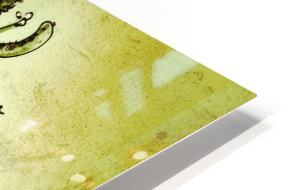 Mistletoe HD Sublimation Metal print