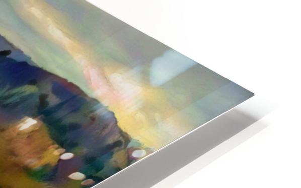 Hidden cove HD Sublimation Metal print