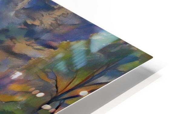 Multnomah falls HD Sublimation Metal print