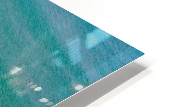 Clear Beach  HD Sublimation Metal print