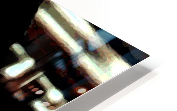 bruce lee1a HD Sublimation Metal print