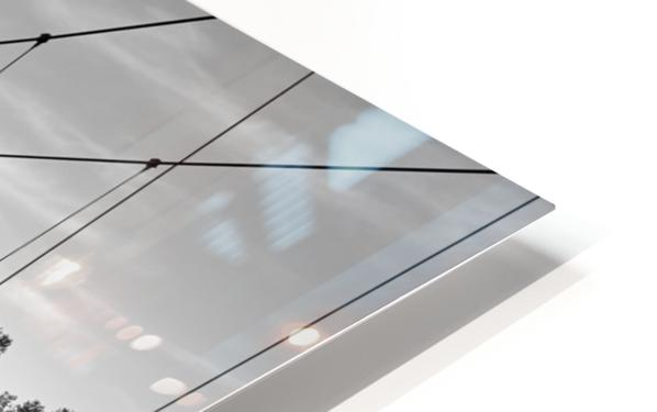 White Bridge HD Sublimation Metal print