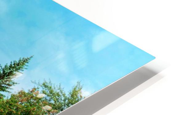 The Lonley Bridge HD Sublimation Metal print