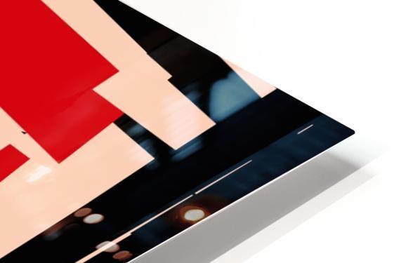 Juggling_Piet_Mondrian HD Sublimation Metal print