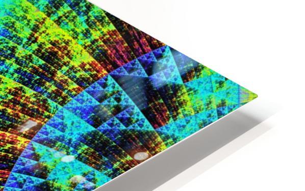 Mandala_a_la_Sierpinski HD Sublimation Metal print