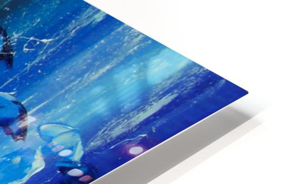 Bright rain HD Sublimation Metal print