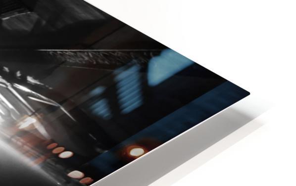 Dark alley HD Sublimation Metal print