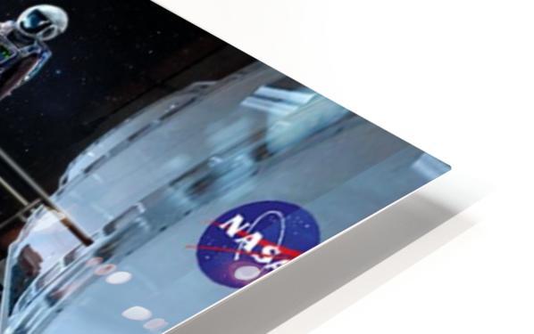 Moon Base 2 HD Sublimation Metal print