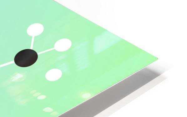 Koffein modern soft HD Sublimation Metal print